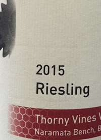 Synchromesh Wines Thorny Vines Riesling
