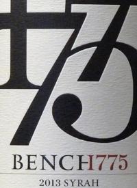 Bench 1775 Syrahtext