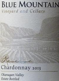 Blue Mountain Reserve Chardonnaytext