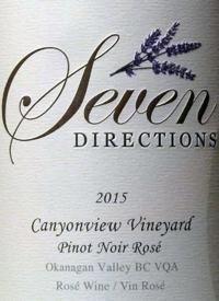 Seven Directions Canyonview Vineyard Pinot Noir Rosétext