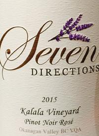 Seven Directions Kalala Vineyard Pinot Noir Rosétext