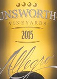 Unsworth Vineyards Allegro