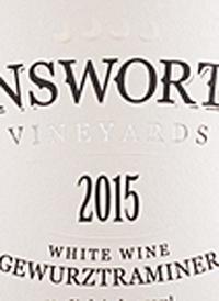 Unsworth Vineyards Gewurztraminertext