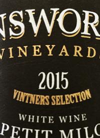 Unsworth Vineyards Petit Milo Vintners Selectiontext