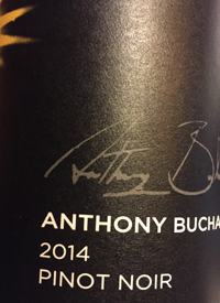 Anthony Buchanan Wines Pinot Noir