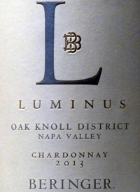 Beringer Luminus Oak Knoll Chardonnaytext