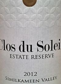 Clos du Soleil Estate Reserve White