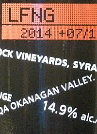 Laughing Stock Vineyards Syrah +07/10text