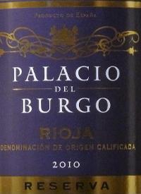 Palacio del Burgo Rioja Reservatext