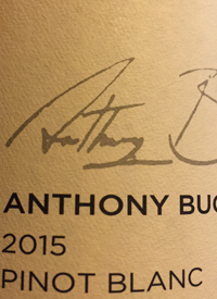 Anthony Buchanan Wines Pinot Blanc