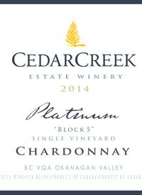 CedarCreek Platinum Block 5 Single Vineyard Chardonnay