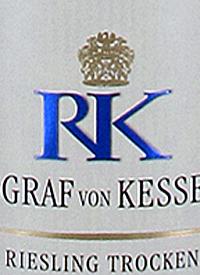Reichsgraf von Kesselstatt RK Riesling Trockentext