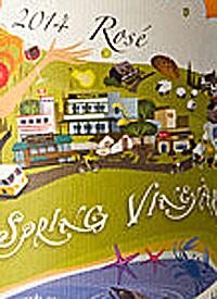 Salt Spring Vineyards Rosétext