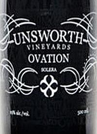 Unsworth Vineyards Ovation Solera