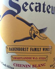 A. A. Badenhorst Secateurs Chenin Blanc