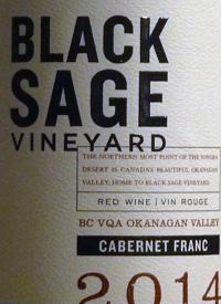 Black Sage Vineyard Cabernet Franctext