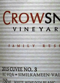 Crowsnest Family Reserve Cuvee No. 3text
