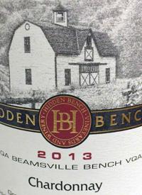 Hidden Bench Estate Chardonnay Beamsville Benchtext