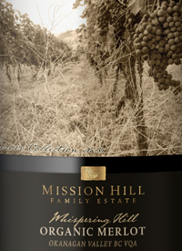 Mission Hill Terroir Collection No. 39 Whispering Hill Organic Merlottext