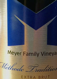 Meyer Family Vineyards Méthode Traditionnelle Extra Bruttext