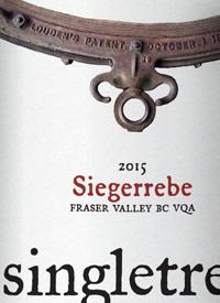 Singletree Winery Siegerrebetext