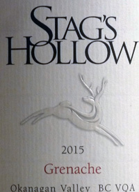 Stag's Hollow Grenachetext