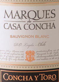 Concha y Toro Marques de Casa Concha Sauvignon Blanctext