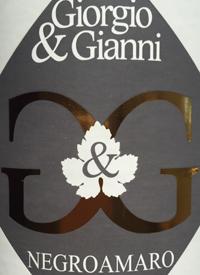 Giorgio & Gianni Negroamarotext