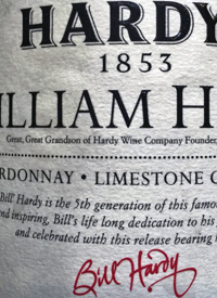 Hardys William Hardy Chardonnay Limestone Coasttext