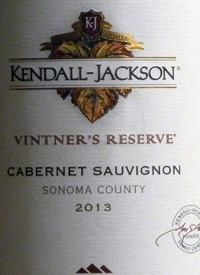Kendall-Jackson Cabernet Sauvignon Vintner's Reserve