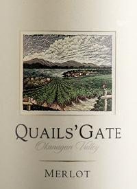 Quails' Gate Merlottext