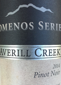 Averill Creek Somenos Series Pinot Noir