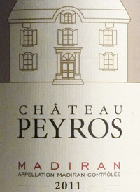 Chateau Peyros Madiran Tannat Cabernet Franctext