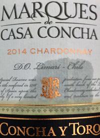 Concha y Toro Marqués de Casa Concha Chardonnay Single Vineyardtext
