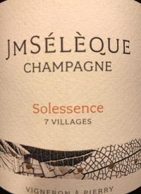 Champagne J-M Sélèque Solessence Brut