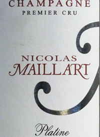 Champagne Nicolas Maillart Brut Platinetext