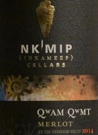 Nk'Mip Cellars Qwam Qwmt Merlottext