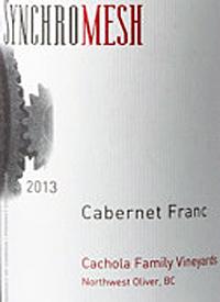 Synchromesh Cachola Family Vineyard Cabernet Franc