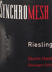 Synchromesh Riesling Storm Haven Vineyardtext