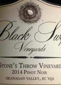 Black Swift Vineyards Stone's Throw Vineyard Pinot Noir