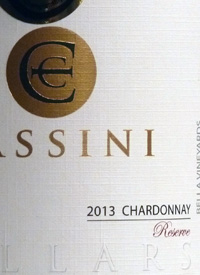 Cassini Cellars Chardonnay Bella Vineyardtext
