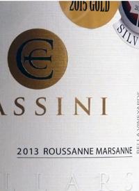 Cassini Cellars Roussanne Marsanne Bella Vineyardtext