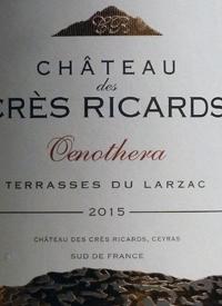 Château des Crès Ricards Oenotheratext