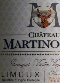 Château Martinolles Garriguet Vieilles Vignestext