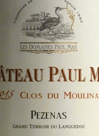 Chateau Paul Mas Clos du Moulinas Pézenastext