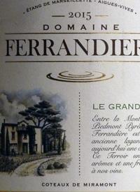 Domaine Ferrandiere Blanc Coteaux de Miramonttext