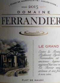 Domaine Ferrandiere Rouge Coteaux de Miramonttext