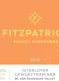 Fitzpatrick Family Vineyards Interloper Gewurztraminertext