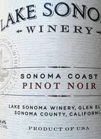 Lake Sonoma Pinot Noirtext
