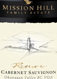 Mission Hill Reserve Cabernet Sauvignon (GOW)text